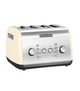 Тостер KitchenAid кремовый 5KMT421EAC