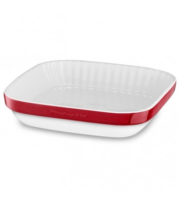 Керамическая форма для запекания красная KitchenAid KBLR09AGER