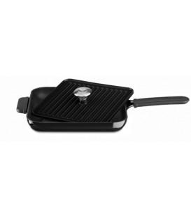 Сковорода чугунная квадратная KitchenAid KCI10GPOB