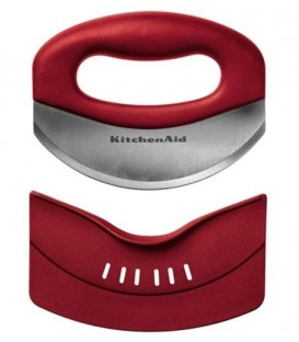 Мезалуна (нож для зелени) красная KitchenAid KC173OHERA