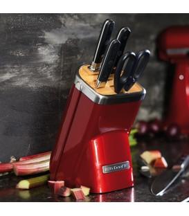 Набор ножей 7 предметов карамельное яблоко KitchenAid KKFMA07CA