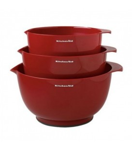 Набор чаш для смешивания 3 шт KitchenAid KG175ER