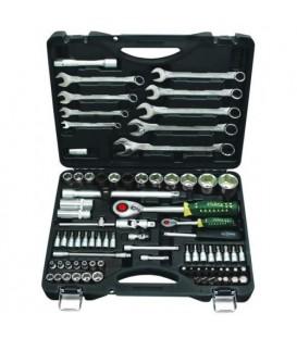 RF-4821-5 Набор инструмента : 1/2 & 1/4DR 6-гранный 82пр. ROCK FORCE