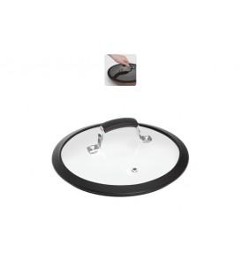 Стеклянная крышка с силиконовым ободом LOTA 24 см
