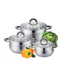 Набор посуды LARA LR02-84 Bell PROMO