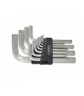 Набор ключей шестигранных ROCK FORCE 13пр. RF-5137 Г-образных 2-19мм