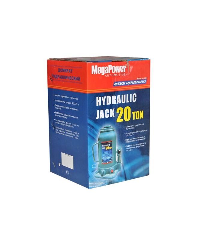 Домкрат гидравлический бутылочный Megapower M-95007 - фото 9