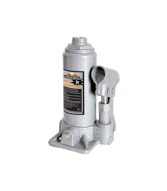 Домкрат гидравлический бутылочный Автостоп AJ-003 - фото 2