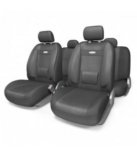 Чехлы на сиденье AUTOPROFI COMFORT COM-1105 Attache (M) с ортопедической поддержкой, (11шт)