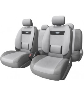 Чехлы на сиденье AUTOPROFI COMFORT COM-1105 DARK GREY/LIGHT GREY (M)
