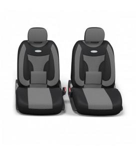 Чехлы на сиденье AUTOPROFI EXTRA COMFORT ECO-1105 BLACK/DARK GREY велюр (11шт)