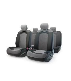 Чехлы на сиденье AUTOPROFI EXTREME XTR-803 BLACK велюр сетка (8шт)
