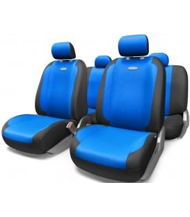 Чехлы на сиденье AUTOPROFI GENERATION GEN-1105 BLACK/BLUE велюр (11шт)