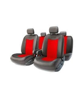 Чехлы на сиденье AUTOPROFI GRAND FULL GND-1305GF BLACK/RED