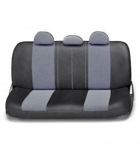 Чехлы на сиденье AUTOPROFI MATRIX MTX-1105 BLACK/DARK GREY (M)