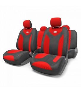 Чехлы на сиденье AUTOPROFI MATRIX MTX-1105 BLACK/RED (M)