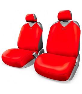 Чехлы на сиденье AUTOPROFI R-1 SPORT PLUS R-402Pf RED
