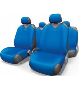 Чехлы на сиденье AUTOPROFI R-1 SPORT R-802 BLUE (майка)