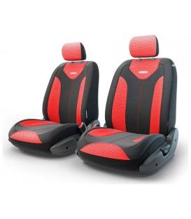 Чехлы на сиденье AUTOPROFI MATRIX TRS/MTX-001G BLACK/RED