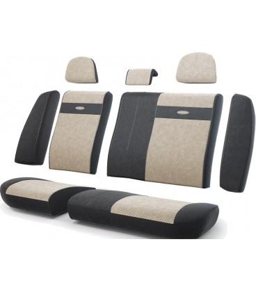 Чехлы на сиденье AUTOPROFI TRANSFORMER TRS-002 BLACK/LIGHT BEIGE