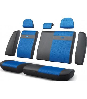 Чехлы на сиденье AUTOPROFI TRANSFORMER TRS-002G BLACK/BLUE
