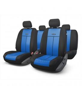 Чехлы на сиденье AUTOPROFI TT-902M BLACK/BLUE AIRBAG