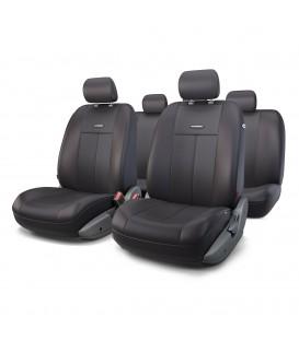 Чехлы на сиденье AUTOPROFI TT-902P BLACK/BLACK AIRBAG