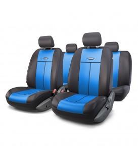 Чехлы на сиденье AUTOPROFI TT-902P BLACK/BLUE AIRBAG