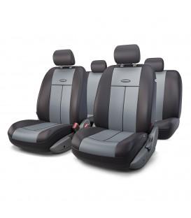 Чехлы на сиденье AUTOPROFI TT-902P BLACK/DARK GREY AIRBAG
