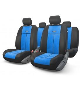 Чехлы на сиденье AUTOPROFI TT-902V BLACK/BLUE AIRBAG