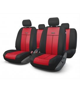Чехлы на сиденье AUTOPROFI TT-902V BLACK/RED AIRBAG