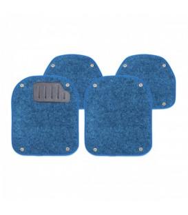 Вкладыши ворсовые AUTOPROFI PET-500I BLUE для ковриков TER-500I