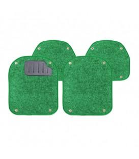 Вкладыши ворсовые AUTOPROFI PET-500I GREEN для ковриков TER-500I