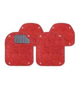 Вкладыши ворсовые AUTOPROFI PET-500I RED для ковриков TER-500I