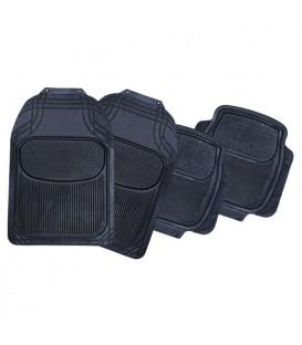 Коврики резиновые АВТОСТОП AB-1005BK черные
