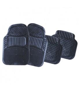 Коврики резиновые АВТОСТОП AB-4014BK черные