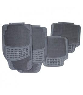 Коврики резиновые АВТОСТОП AB-5004GY серые