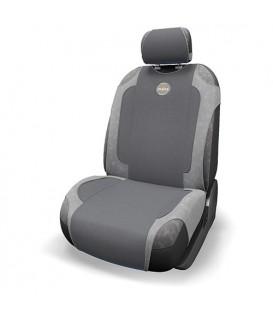 Накидка на сиденье AUTOPROFI ЖАRA HOT-650 DARK GREY/LIGHT GREY 12V