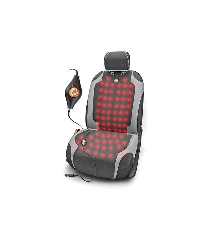 Накидка на сиденья с подогревом и терморегулятором Autoprofi HOT-650 «ЖАRA» - фото 4