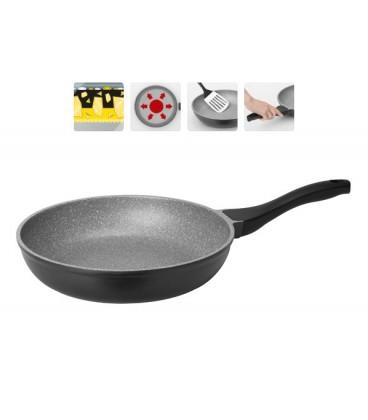 Сковорода с мраморным покрытием GRANIA 28 см