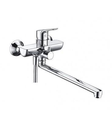 Смеситель для ванны с длинным изливом WasserKRAFT Lippe 4502L