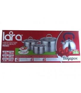 Набор посуды LARA Beauty LR02-96