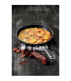 Сковорода анодизированная, 24 cm KitchenAid KC2H110SKKD