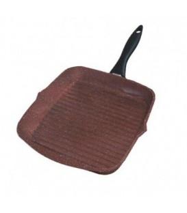 Сковорода гриль с покрытием Квантаниум, LUBAVA, Т26С, 26*26 см.