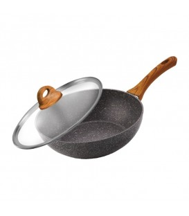 Сковорода-Вок LARA GRANIT LR01-57-28