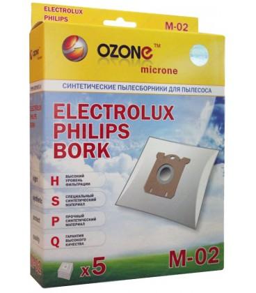 Мешки-пылесборники OZONE micron M-02