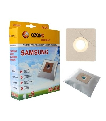 Мешки-пылесборники OZONE micron M-04