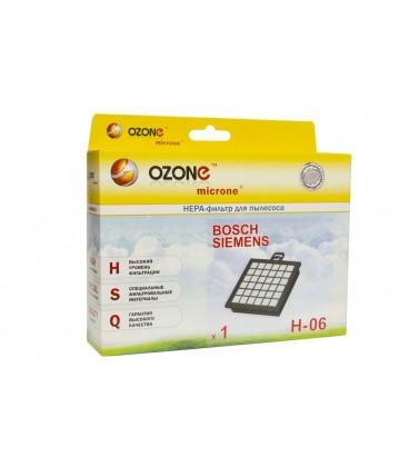 HEPA-фильтр OZONE H-06