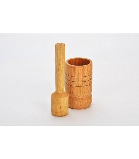 Ступка с пестиком деревянная MAYER&BOCH 40-41