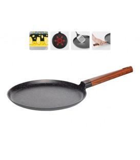 Сковорода блинная с антипригарным покрытием, OLDRA 28 см